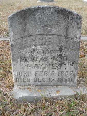 HAYNES, MAGGIE LOU - Webster County, Louisiana | MAGGIE LOU HAYNES - Louisiana Gravestone Photos