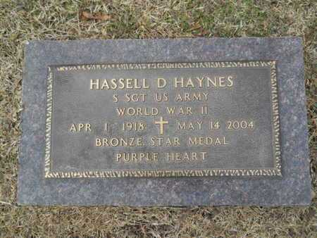 HAYNES, HASSELL D (VETERAN WWII) - Webster County, Louisiana | HASSELL D (VETERAN WWII) HAYNES - Louisiana Gravestone Photos