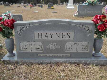HAYNES, OVA D - Webster County, Louisiana | OVA D HAYNES - Louisiana Gravestone Photos
