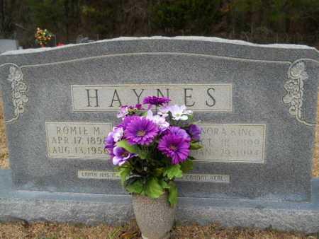 HAYNES, ROMIE M - Webster County, Louisiana | ROMIE M HAYNES - Louisiana Gravestone Photos