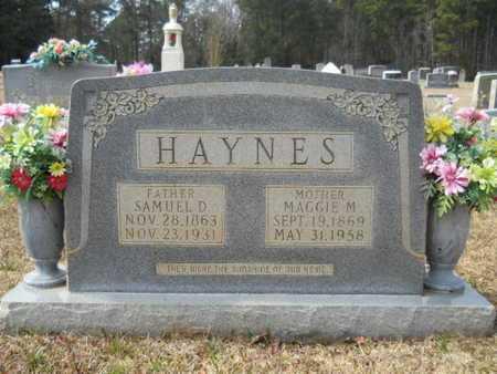 HAYNES, SAMUEL D - Webster County, Louisiana | SAMUEL D HAYNES - Louisiana Gravestone Photos