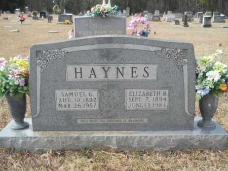 HAYNES, ELIZABETH - Webster County, Louisiana | ELIZABETH HAYNES - Louisiana Gravestone Photos