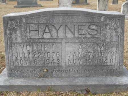 HAYNES, ANDREW MATTISON - Webster County, Louisiana | ANDREW MATTISON HAYNES - Louisiana Gravestone Photos