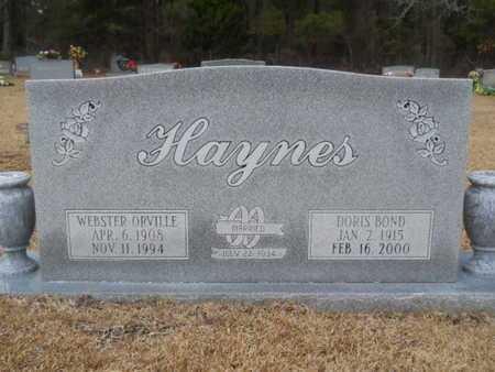 HAYNES, DORIS PEARL - Webster County, Louisiana | DORIS PEARL HAYNES - Louisiana Gravestone Photos