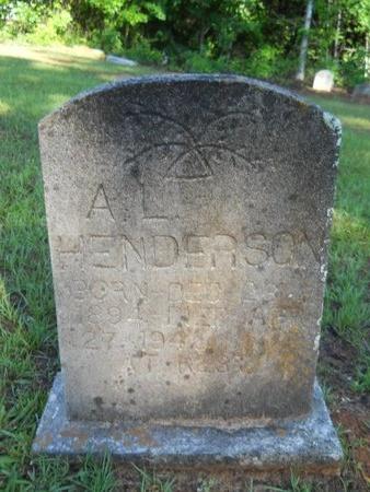 HENDERSON, A L - Webster County, Louisiana | A L HENDERSON - Louisiana Gravestone Photos