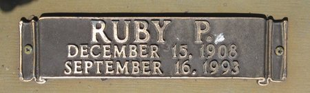 HENDERSON, RUBY (CLOSE UP) - Webster County, Louisiana   RUBY (CLOSE UP) HENDERSON - Louisiana Gravestone Photos