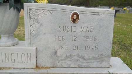 HERRINGTON, SUSIE MAE (CLOSE UP) - Webster County, Louisiana | SUSIE MAE (CLOSE UP) HERRINGTON - Louisiana Gravestone Photos