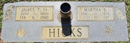 HICKS, MARTHA S - Webster County, Louisiana | MARTHA S HICKS - Louisiana Gravestone Photos