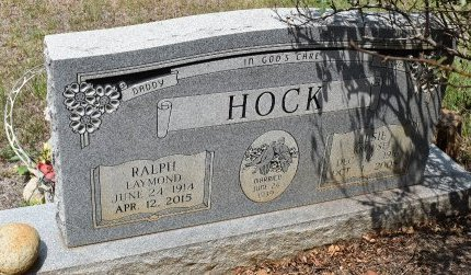 HOCK, RALPH LAYMOND - Webster County, Louisiana | RALPH LAYMOND HOCK - Louisiana Gravestone Photos