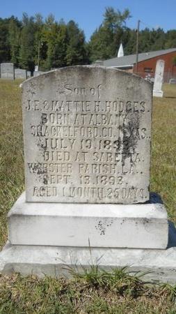 HODGES, JOHN EDMUND, JR (BACK) - Webster County, Louisiana | JOHN EDMUND, JR (BACK) HODGES - Louisiana Gravestone Photos