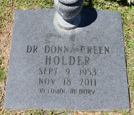 HOLDER, DONNA, DR - Webster County, Louisiana | DONNA, DR HOLDER - Louisiana Gravestone Photos