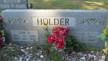 HOLDER, GAY S - Webster County, Louisiana | GAY S HOLDER - Louisiana Gravestone Photos