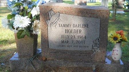 HOLDER, TAMMY DARLENE - Webster County, Louisiana | TAMMY DARLENE HOLDER - Louisiana Gravestone Photos