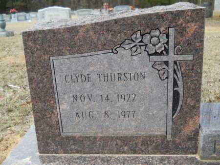 HOLLAND, CLYDE THURSTON (CLOSE UP) - Webster County, Louisiana   CLYDE THURSTON (CLOSE UP) HOLLAND - Louisiana Gravestone Photos