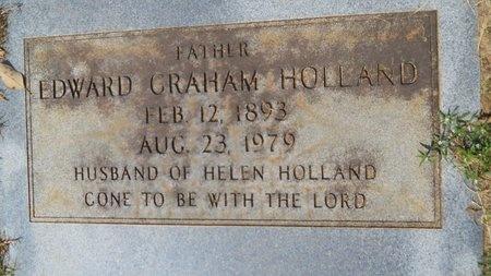 HOLLAND, EDWARD GRAHAM - Webster County, Louisiana | EDWARD GRAHAM HOLLAND - Louisiana Gravestone Photos