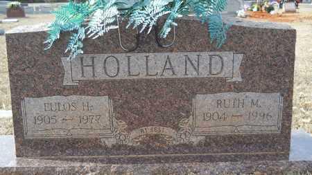HOLLAND, RUTH M - Webster County, Louisiana | RUTH M HOLLAND - Louisiana Gravestone Photos