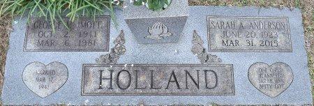 HOLLAND, SARAH A - Webster County, Louisiana | SARAH A HOLLAND - Louisiana Gravestone Photos
