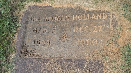 HOLLAND, IRA ALDRED - Webster County, Louisiana | IRA ALDRED HOLLAND - Louisiana Gravestone Photos