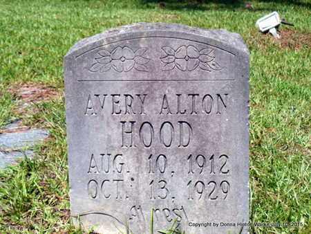HOOD, AVERY ALTON - Webster County, Louisiana | AVERY ALTON HOOD - Louisiana Gravestone Photos