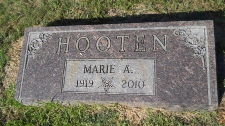 HOOTEN, MARIE A - Webster County, Louisiana | MARIE A HOOTEN - Louisiana Gravestone Photos