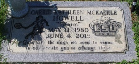 HOWELL, CARRIE KATHLEEN - Webster County, Louisiana | CARRIE KATHLEEN HOWELL - Louisiana Gravestone Photos