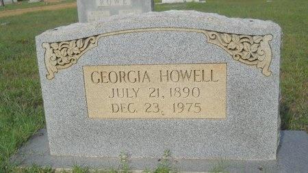 HOWELL, GEORGIA - Webster County, Louisiana | GEORGIA HOWELL - Louisiana Gravestone Photos