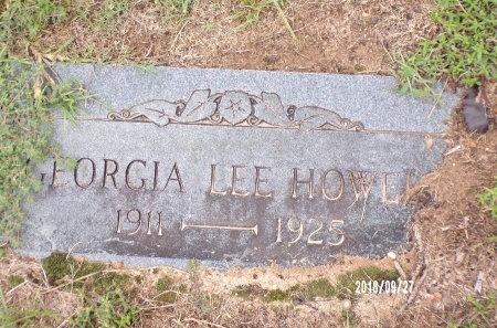 HOWELL, GEORGIA LEE - Webster County, Louisiana | GEORGIA LEE HOWELL - Louisiana Gravestone Photos