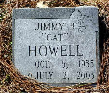 "HOWELL, JIMMY BROOK ""CAT"" - Webster County, Louisiana 