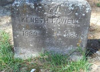 HOWELL, KENETH - Webster County, Louisiana | KENETH HOWELL - Louisiana Gravestone Photos
