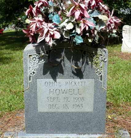 HOWELL, OPHIE LEE - Webster County, Louisiana | OPHIE LEE HOWELL - Louisiana Gravestone Photos