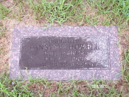 HOWELL, PANSY V - Webster County, Louisiana | PANSY V HOWELL - Louisiana Gravestone Photos