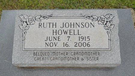 HOWELL, RUTH - Webster County, Louisiana   RUTH HOWELL - Louisiana Gravestone Photos