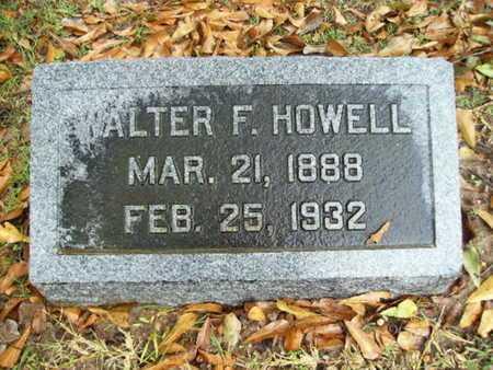 HOWELL, WALTER F - Webster County, Louisiana | WALTER F HOWELL - Louisiana Gravestone Photos