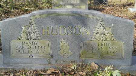 HUDSON, LEROY - Webster County, Louisiana | LEROY HUDSON - Louisiana Gravestone Photos