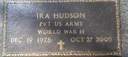 HUDSON, IRA (VETERAN WWII) - Webster County, Louisiana | IRA (VETERAN WWII) HUDSON - Louisiana Gravestone Photos