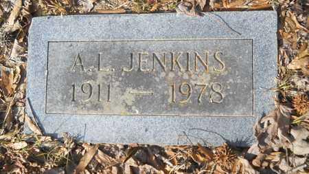 JENKINS, A L - Webster County, Louisiana | A L JENKINS - Louisiana Gravestone Photos