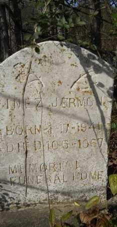 JERMON, INEZ - Webster County, Louisiana   INEZ JERMON - Louisiana Gravestone Photos