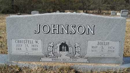 JOHNSON, CHRISTELL W - Webster County, Louisiana | CHRISTELL W JOHNSON - Louisiana Gravestone Photos