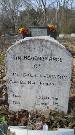 JOHNSON, SUE LOLA - Webster County, Louisiana | SUE LOLA JOHNSON - Louisiana Gravestone Photos