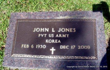 JONES, LOYD (VETERAN KOR) - Webster County, Louisiana   LOYD (VETERAN KOR) JONES - Louisiana Gravestone Photos