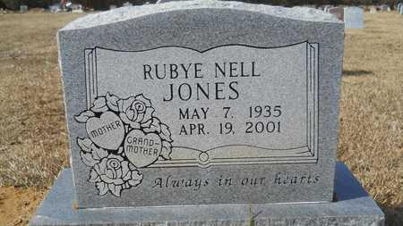 JONES, RUBYE NELL - Webster County, Louisiana | RUBYE NELL JONES - Louisiana Gravestone Photos