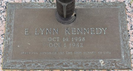 KENNEDY, E LYNN - Webster County, Louisiana | E LYNN KENNEDY - Louisiana Gravestone Photos