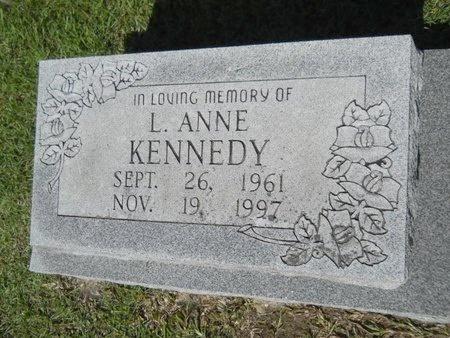 KENNEDY, L ANNE - Webster County, Louisiana | L ANNE KENNEDY - Louisiana Gravestone Photos