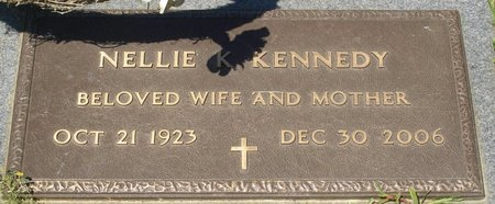 KENNEDY, NELLIE K (CLOSE UP) - Webster County, Louisiana | NELLIE K (CLOSE UP) KENNEDY - Louisiana Gravestone Photos