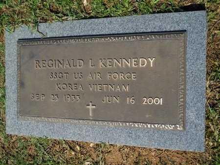KENNEDY, REGINALD L (VETERAN 2 WARS) - Webster County, Louisiana | REGINALD L (VETERAN 2 WARS) KENNEDY - Louisiana Gravestone Photos