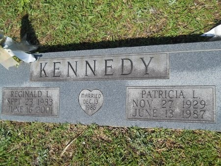KENNEDY, PATRICIA L - Webster County, Louisiana | PATRICIA L KENNEDY - Louisiana Gravestone Photos