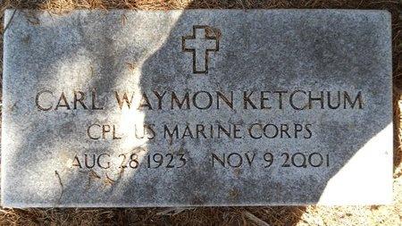 KETCHUM, CARL WAYMON (VETERAN) - Webster County, Louisiana | CARL WAYMON (VETERAN) KETCHUM - Louisiana Gravestone Photos