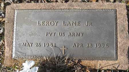 LANE, LEROY, JR - Webster County, Louisiana | LEROY, JR LANE - Louisiana Gravestone Photos