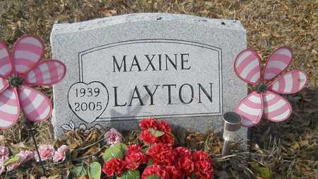 LAYTON, MAXINE - Webster County, Louisiana | MAXINE LAYTON - Louisiana Gravestone Photos