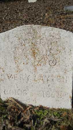 LAYTON, VERY - Webster County, Louisiana | VERY LAYTON - Louisiana Gravestone Photos